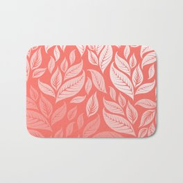 LIVING CORAL LEAVES 2 Bath Mat