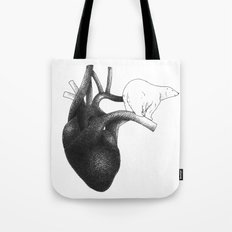 Feel their hearts they're cold as ice..... Tote Bag