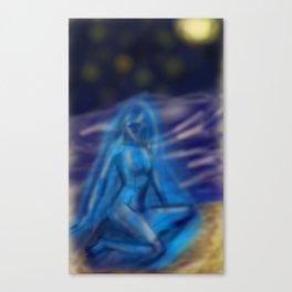 goddess of contempt Canvas Print