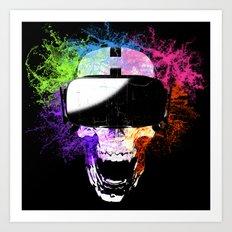 Virtual Joy Art Print