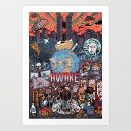 AWAKE! Art Print