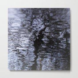 Wander // Ripple Metal Print