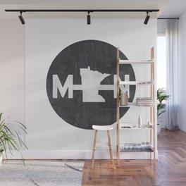 Minnesota Logo MN Wall Mural