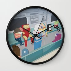 The Nick Yorkers in January Wall Clock