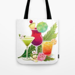 Topical Drinks2 Tote Bag