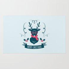 Deer Christmas Rug