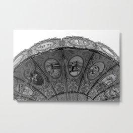 Swing Carousel III Metal Print