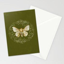 White Moth Stationery Cards