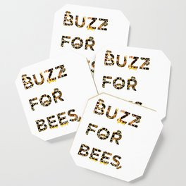 Buzz for Bees Coaster