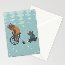 BEAR MOM Stationery Cards