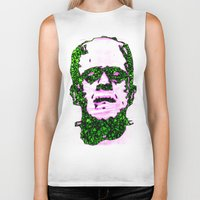 frank underwood Biker Tanks featuring Frank by Fimbis