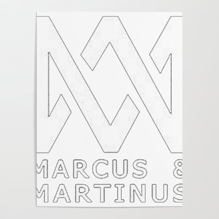 Marcus martinus logo Poster
