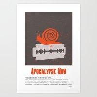 apocalypse now Art Prints featuring Apocalypse Now (1979) by Matthew Dupuis