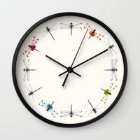 circle Wall Clocks featuring Circle by Okti