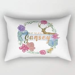 """Gansey - Best Mom of The Year"" The Raven Cycle Inspired Rectangular Pillow"