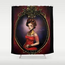 soft memory Shower Curtain