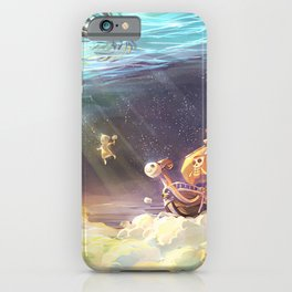 one piece boat iPhone Case