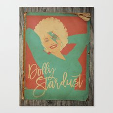 Dolly Stardust 2.0 Canvas Print