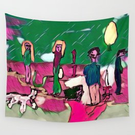 The robber Wall Tapestry