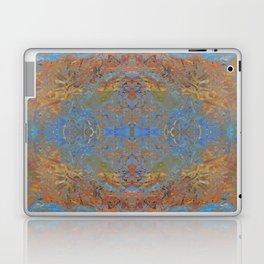 Fall blue geometry Laptop & iPad Skin