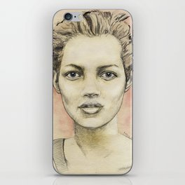 Kate Moss iPhone Skin