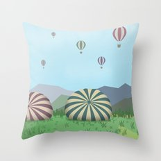 FROM THE HEIGHTS Throw Pillow