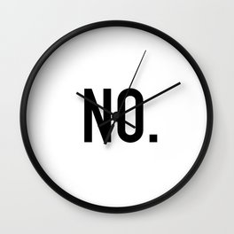 No. Wall Clock