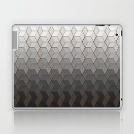 Pattern #6 Greyscale Laptop & iPad Skin