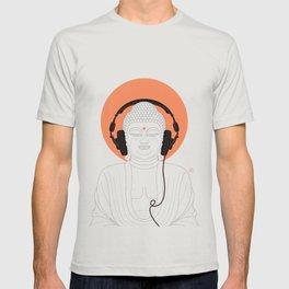 Buddha : Listen to Om! T-shirt
