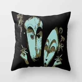 Sociable Throw Pillow