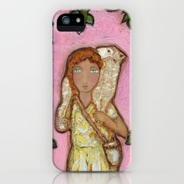 True Vine Good Shepherd iPhone Case