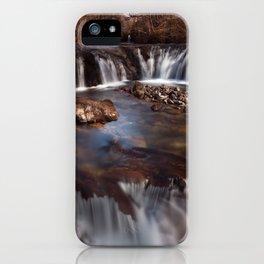 Sgwd y Bedol, South Wales iPhone Case