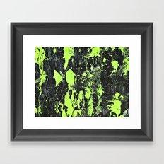 The Green Swim Framed Art Print