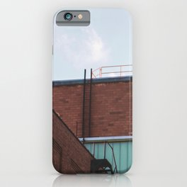 Ladders and Railings-Architecture and the Sky iPhone Case