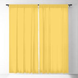 Flamboyant Rose ~ Butter Yellow Blackout Curtain