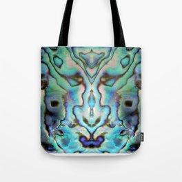 Seashell Abstract Tote Bag