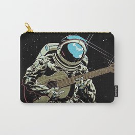 Space Guitar Player Carry-All Pouch