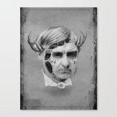 The Melting Man Canvas Print