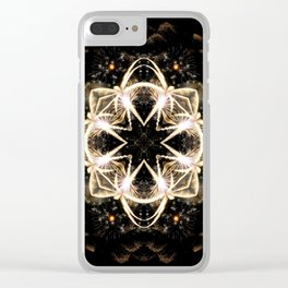 Star Gazer Clear iPhone Case