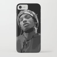 asap rocky iPhone & iPod Cases featuring ASAP Rocky by Léo Faulhaber