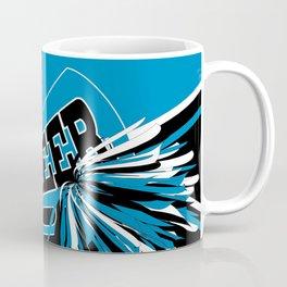 Blue Cheerleader Coffee Mug