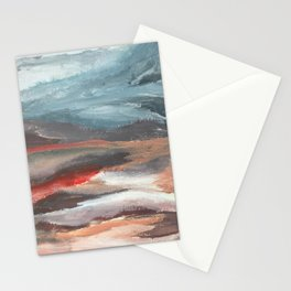Serenity [2]: an acrylic piece in both warm and cool colors by Alyssa Hamilton Art Stationery Cards