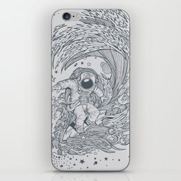 I only surf on Comets iPhone Skin