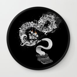 Unleashed Imagination Wall Clock