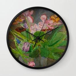 Felicity House Arrangement Wall Clock