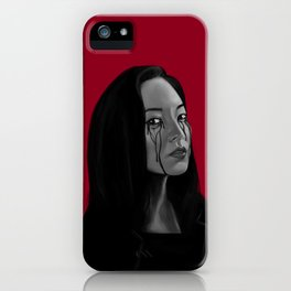 Bad Blood II iPhone Case
