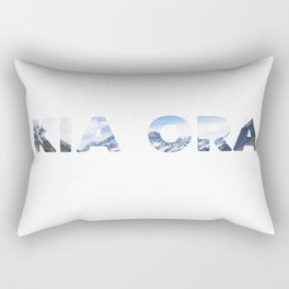 Kia Ora New Zealand Rectangular Pillow
