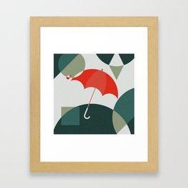 The Umbrella Framed Art Print