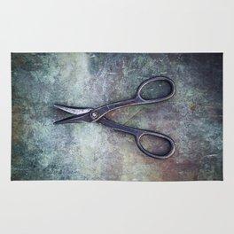 Old Scissors II Rug