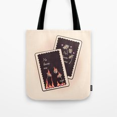 He Loves Me... Tote Bag